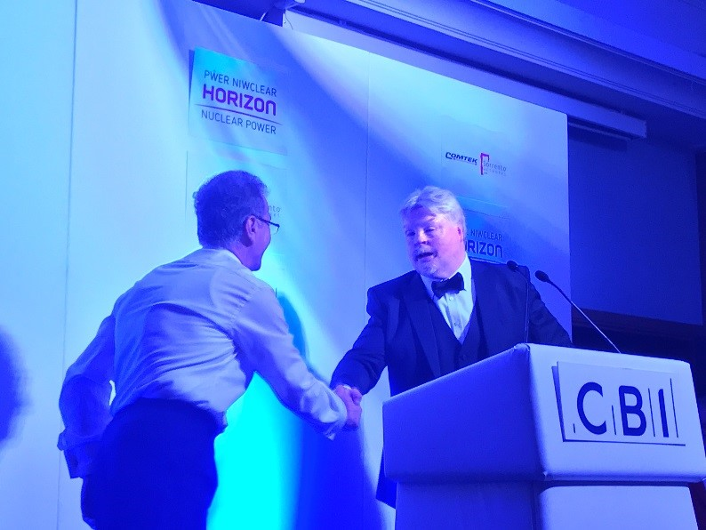 Askar & Simon Weston - CBI Dinner 2017