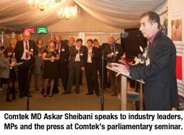 Askar Sheibani Parliament Seminar