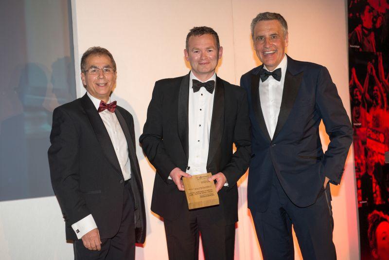 TV News Reporter Gewinner Andy Davies - © Roger Donovan, Medienfotos