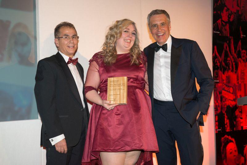 > Online News Reporter Gewinnerin Sarah Hodgson - © Roger Donovan, Medienfotos