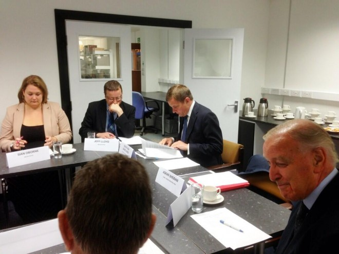 Wrexham - Bidston Electrification Meeting